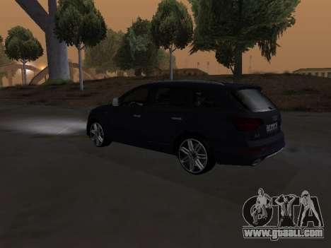 Audi Q7 Armenian for GTA San Andreas side view