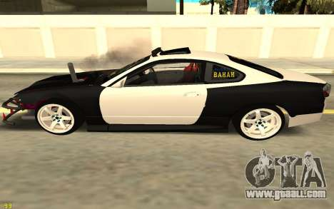 Nissan Silva S15 for GTA San Andreas left view