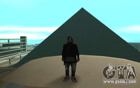 Grove Street Gang Member for GTA San Andreas