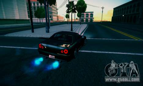 Elegy By DriftRealityTeam for GTA San Andreas back left view