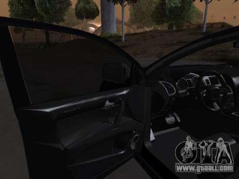 Audi Q7 Armenian for GTA San Andreas upper view