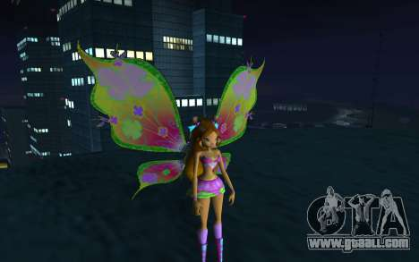 Flora Believix from Winx Club Rockstars for GTA San Andreas