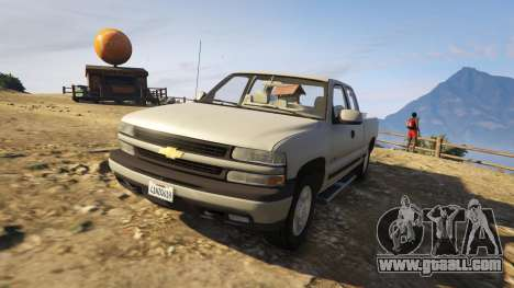 GTA 5 2000 Chevrolet Silverado 1500 rear right side view