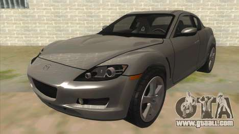 NFS PRO STREET: Mazda RX-8 Tunable for GTA San Andreas