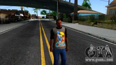 Regular Show T-shirt for GTA San Andreas second screenshot