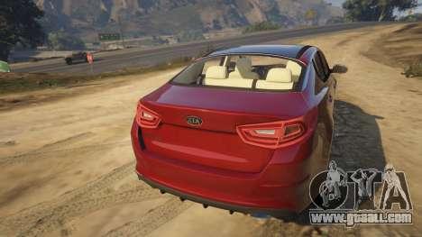 KIA Optima 2014 for GTA 5
