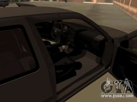 Volkswagen Golf 3 for GTA San Andreas inner view