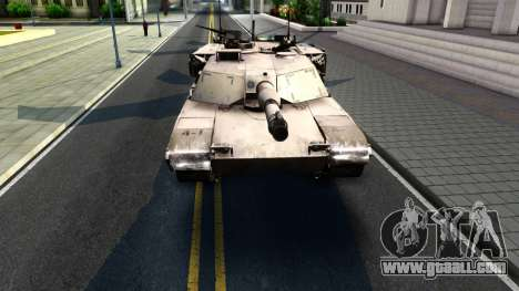 M1A1 Abrams COD4MW Remastered for GTA San Andreas left view