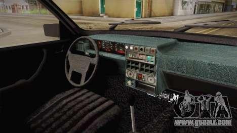 Dacia 1310 Berlina Tunata for GTA San Andreas inner view