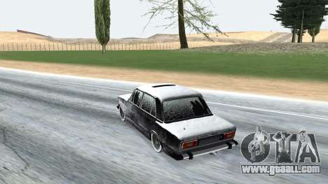 VAZ 2106 winter version for GTA San Andreas right view