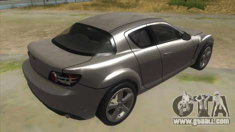 NFS PRO STREET: Mazda RX-8 Tunable for GTA San Andreas right view