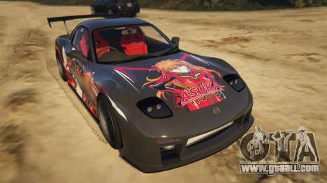 Mazda RX-7 Asuka for GTA 5