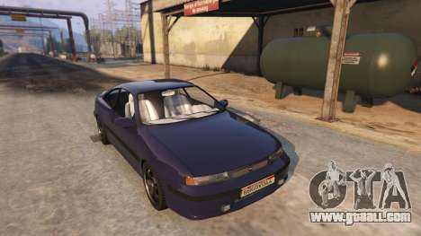 GTA 5 Opel Calibra GT v2 back view
