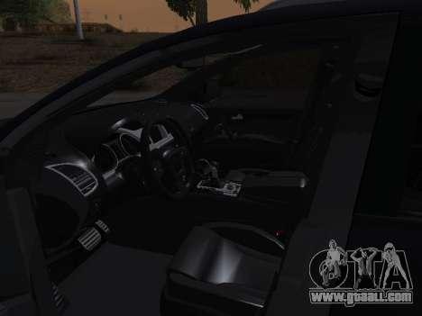 Audi Q7 Armenian for GTA San Andreas bottom view