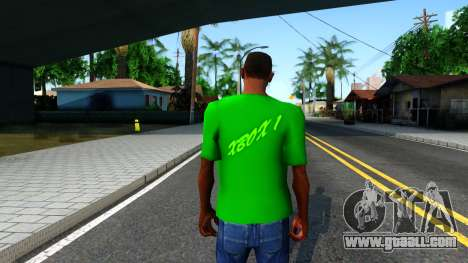 T-Shirt Xbox1 for GTA San Andreas third screenshot