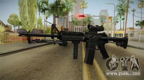 M4A1 ACOG for GTA San Andreas second screenshot