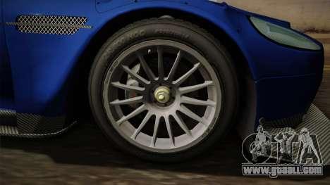 Aston Martin Racing DBR9 2005 v2.0.1 Dirt for GTA San Andreas back view