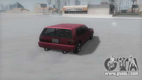 Flash Winter IVF for GTA San Andreas right view