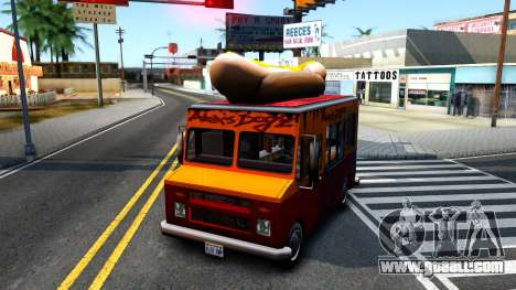 New HotDog Van for GTA San Andreas