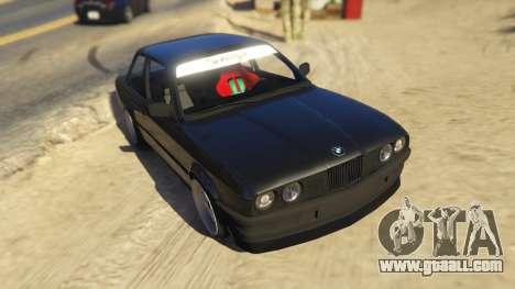 BMW E30 Drift for GTA 5