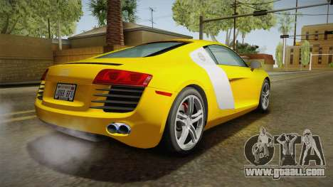 Audi R8 Coupe 4.2 FSI quattro US-Spec v1.0.0 for GTA San Andreas left view