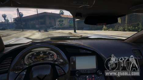 GTA 5 Drag Chevrolet Corvette C7 right side view