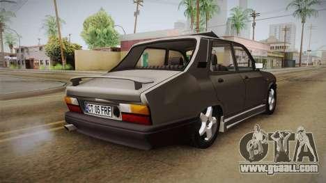 Dacia 1310 Berlina Tunata for GTA San Andreas back left view