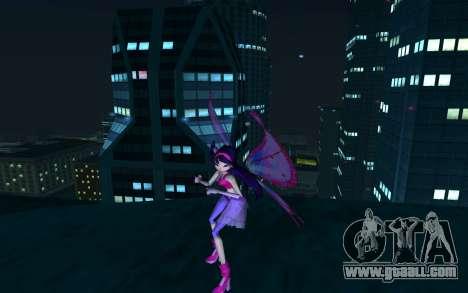 Musa Believix from Winx Club Rockstars for GTA San Andreas second screenshot