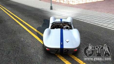 Maserati Tipo 61 for GTA San Andreas right view
