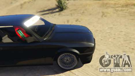 GTA 5 BMW E30 Drift rear right side view
