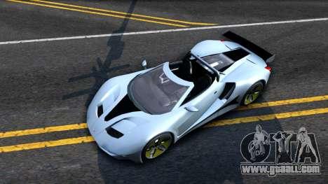GTA V Vapid FMJ Roadster for GTA San Andreas