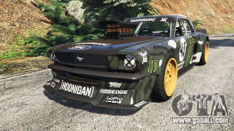 Ford Mustang 1965 Hoonicorn drift [add-on] for GTA 5
