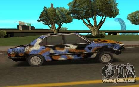 BMW E28 for GTA San Andreas