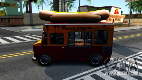 New HotDog Van for GTA San Andreas right view