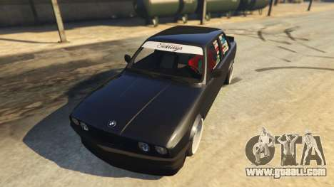 GTA 5 BMW E30 Drift back view