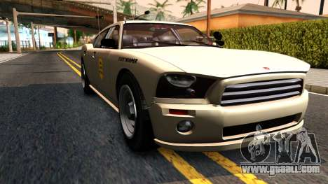 Bravado Buffalo Slicktop 2008 Iowa State Patrol for GTA San Andreas right view