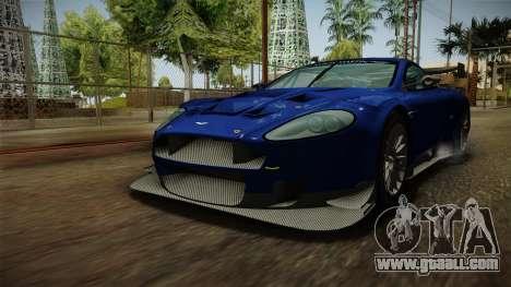 Aston Martin Racing DBR9 2005 v2.0.1 Dirt for GTA San Andreas right view