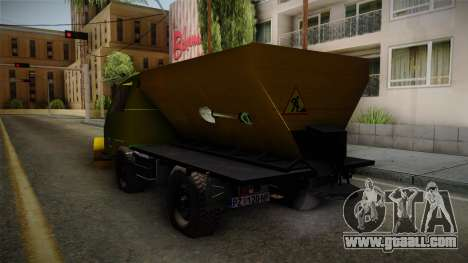 TAM 110 Snow Blower for GTA San Andreas right view