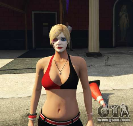 Harley Quinn Tracey for GTA 5