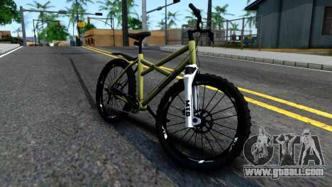 MTB Enhance for GTA San Andreas left view