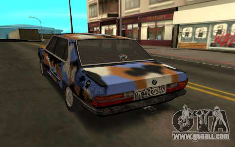 BMW E28 for GTA San Andreas left view