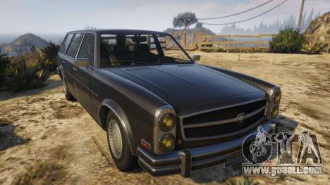 GTA 5 Glendale Station Wagon back view