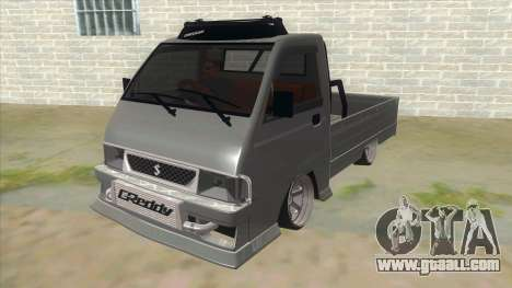 Suzuki Carry Futura Slalom 1.5 V2 for GTA San Andreas back view