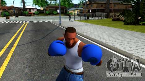 Blue Boxing Gloves Team Fortress 2 for GTA San Andreas third screenshot