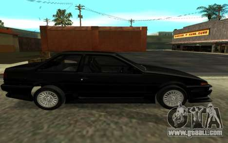 Toyota Corolla Levin (AE86) for GTA San Andreas left view