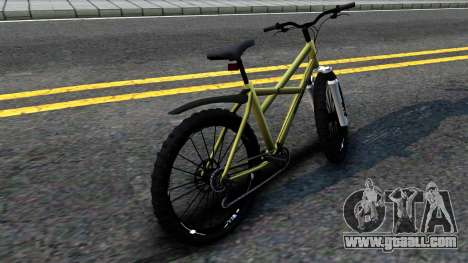 MTB Enhance for GTA San Andreas back left view