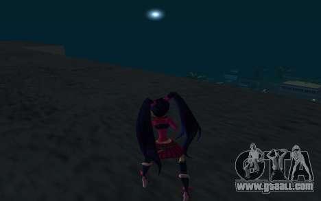Musa Rock Outfit from Winx Club Rockstars for GTA San Andreas third screenshot