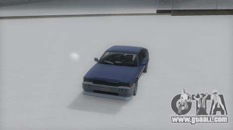 Blista Compact Winter IVF for GTA San Andreas right view