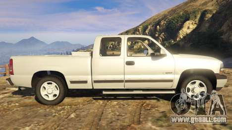 GTA 5 2000 Chevrolet Silverado 1500 left side view