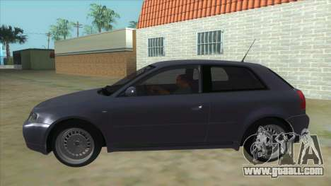 Audi S3 for GTA San Andreas left view